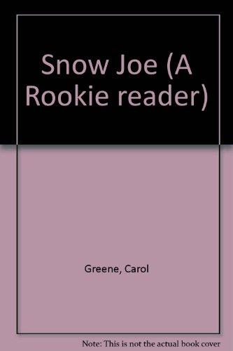 9780516241241: Snow Joe (A Rookie reader)