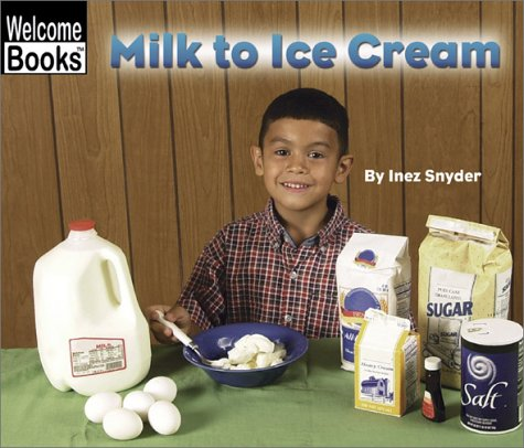 Milk to Ice Cream (Welcome Books: How Things Are Made): Snyder, Inez