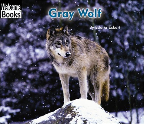 9780516243030: Gray Wolf (Welcome Books)
