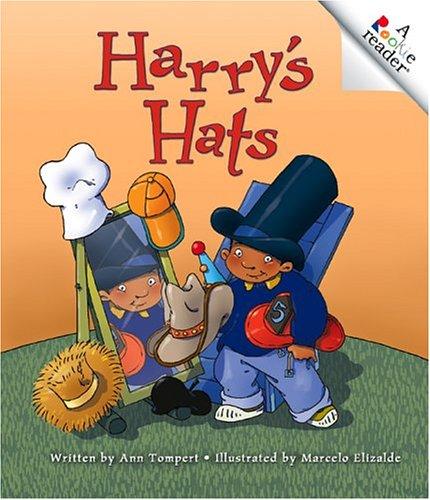 Harry's Hats (A Rookie Reader: Level C): Tompert, Ann