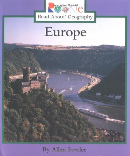 9780516259819: Europe (Rookie Read-About Geography)