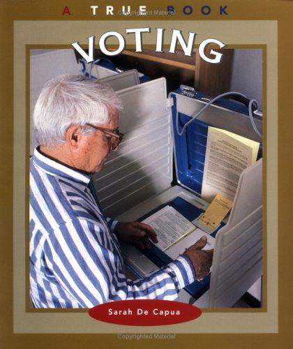 9780516273655: Voting (True Books: Civics)