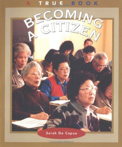 9780516273662: Becoming a Citizen (True Books: Civics (Paperback))