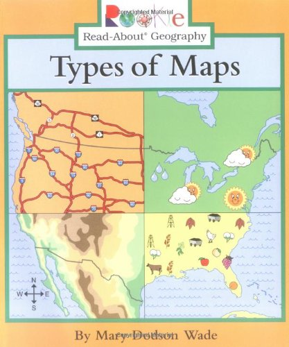 9780516277684: Types of Maps (Rookie Read-About Geography)