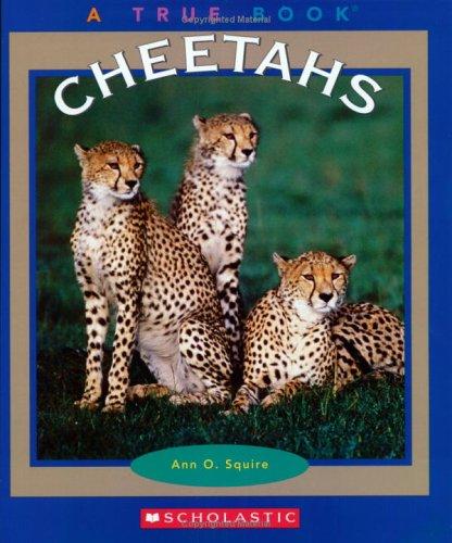 9780516279329: Cheetahs (True Books)