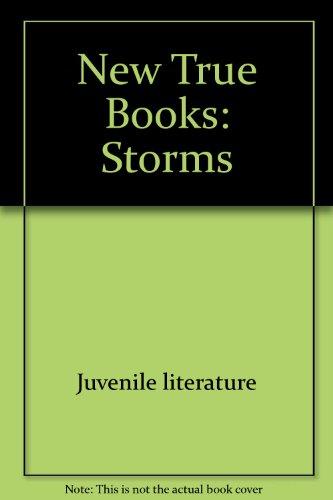 9780516416540: New True Books: Storms (New True Books: Holidays (Paperback))