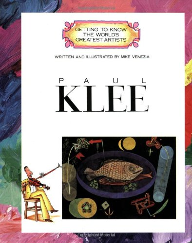 9780516422947: Paul Klee (Getting to Know the World's Greatest Artists)