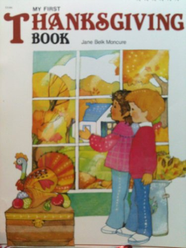 9780516429038: My First Thanksgiving Book (My First Holiday Books)