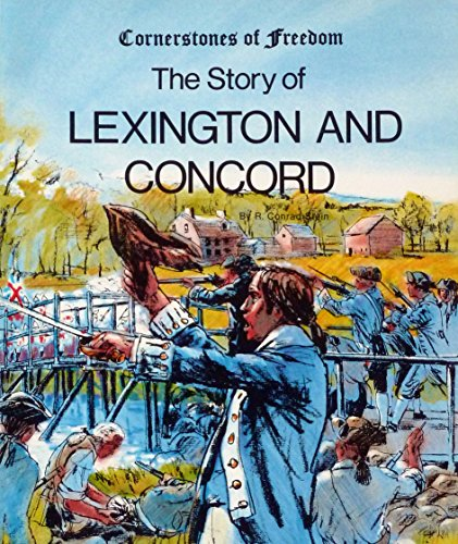9780516446615: The Story of Lexington and Concord (Cornerstones of Freedom)