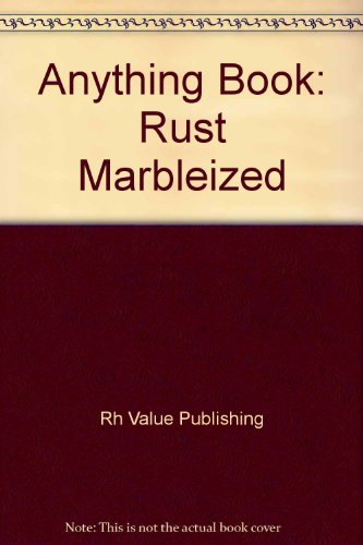 9780517002995: Anything Book: Rust