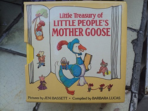 Little Treasury of the Little People's Mother Goose: 6 Vol. Boxed Set (9780517014783) by Jeni Bassett