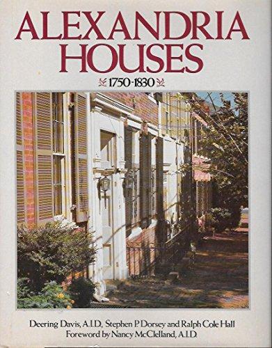 Alexandria Houses 1750-1830: Rh Value Publishing