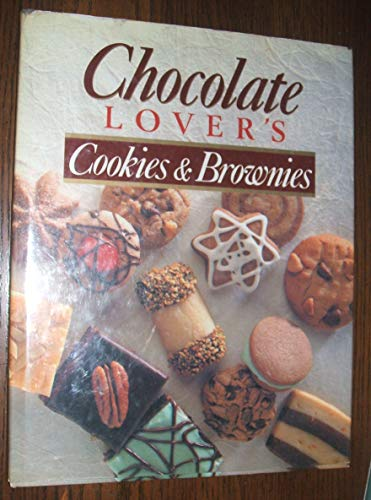 9780517027394: Chocolate Lover's Cookies and Brownies