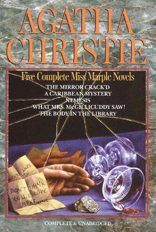9780517035801: Agatha Christie: Five Complete Miss Marple Novels (Avenel Suspense Classics)