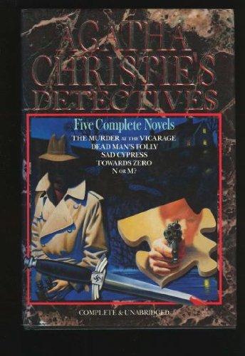 9780517035818: Agatha Christie's Detectives: Five Complete Novels