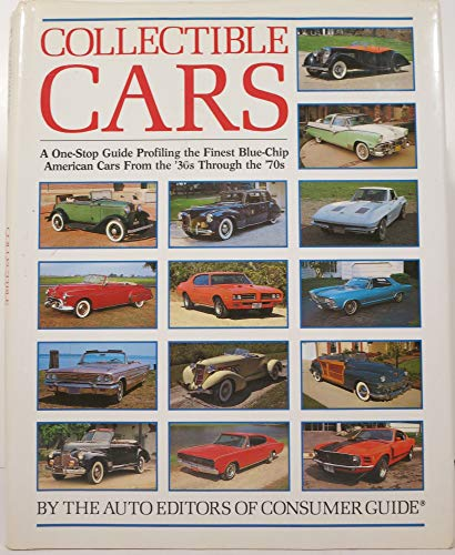 9780517035948: Collectible Cars