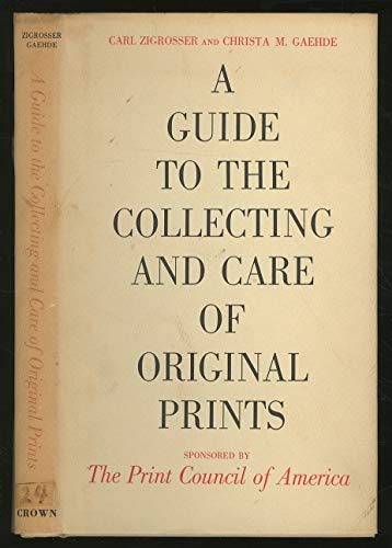 Guide to Collecting & Care of Original Prints