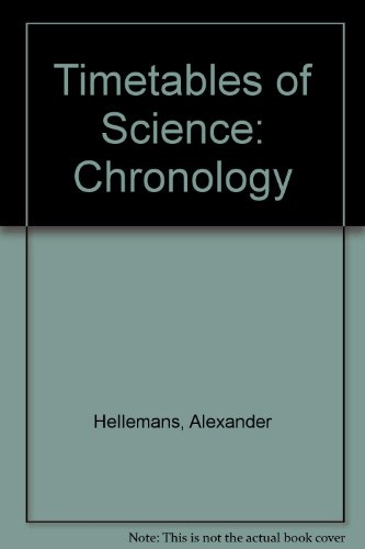 9780517052532: Timetables of Science: Chronology