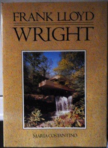 9780517052914: Frank Lloyd Wright: American Art Series (American Architects Series)