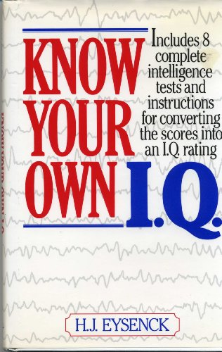 9780517052969: Know Your IQ