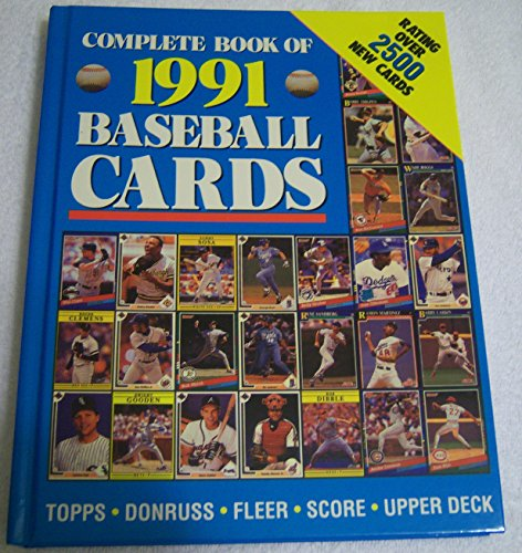 9780517056738: Complete Book of 1991 Baseball Cards