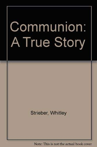 9780517057568: Communion: A True Story