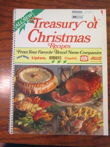 9780517059005: Treasury of Christmas Recipes from Your Favorite Brand Name Companies