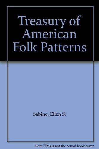 9780517059746: Treasury of American Folk Patterns