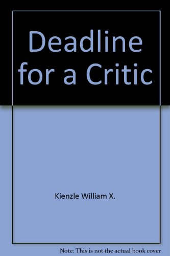 9780517059753: Deadline for a Critic