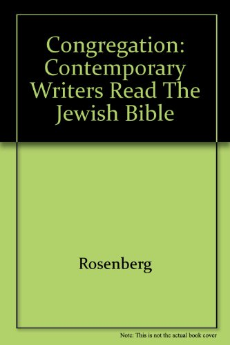9780517063354: Congregation: Contemporary Writers Read the Jewish Bible