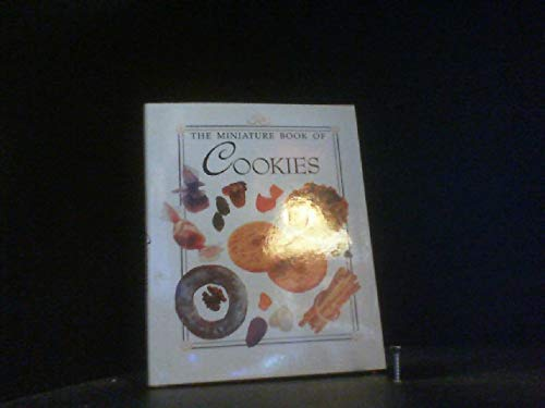 9780517065419: The Miniature Book of Food: Cookies