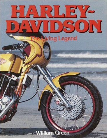 9780517066836: Harley Davidson: The Living Legend