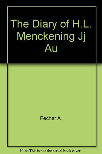 9780517067659: The Diary of H.L. Mencken
