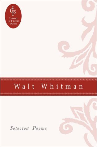 9780517073971: Walt Whitman: Selected Poems