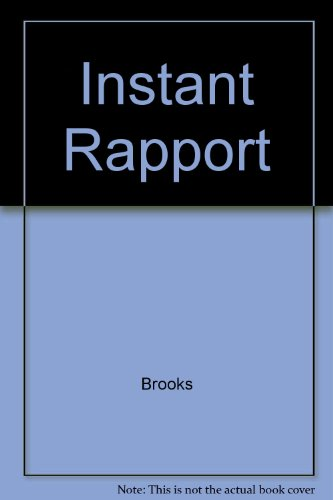 9780517074398: Instant Rapport