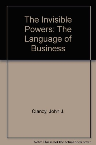 9780517076279: The Invisible Powers: The Language of Business
