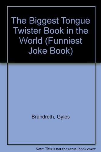 9780517077689: Funniest Joke Books: The Biggest Tongue Twister Book in the World