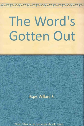 9780517079409: The Words Gotten Out