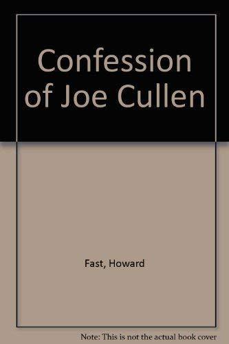 9780517079430: The Confession of Joe Cullen