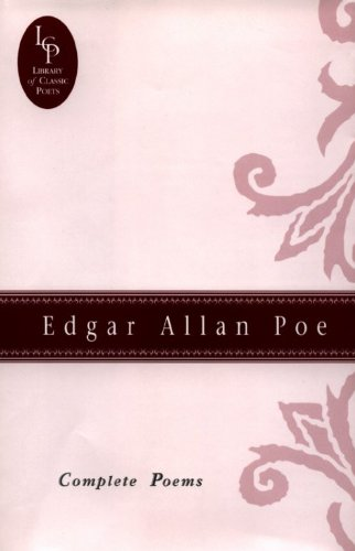 9780517082454: Edgar Allan Poe: Complete Poems (Library of Classic Poets)