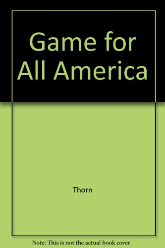 9780517083611: The Game for All America