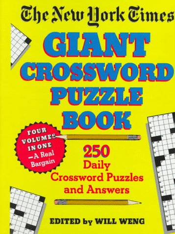 9780517084632: The New York Times Giant Crossword Puzzle Book