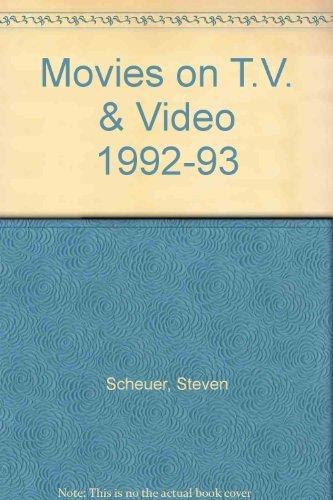 Movies on T.V. & Video 1992-93: Scheuer, Steven