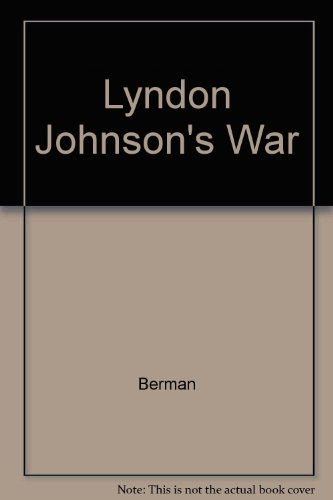 9780517085400: Lyndon Johnson's War
