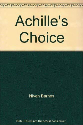 9780517090275: Achille's Choice