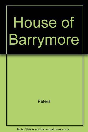 9780517091838: The House of Barrymore