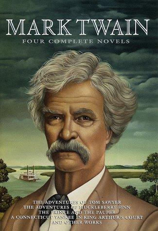 FOUR COMPLETE NOVELS The adventures of Tom: CLEMENS, Samuel (Mark