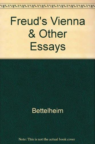 9780517094860: Freud's Vienna & Other Essays