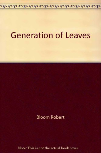 9780517095690: Generation of Leaves