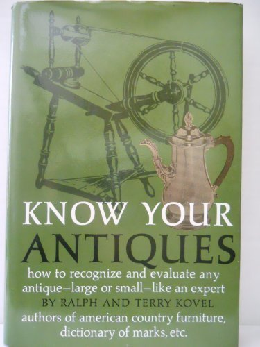 Know Your Antiques : How to Recognize: Ralph M. Kovel;